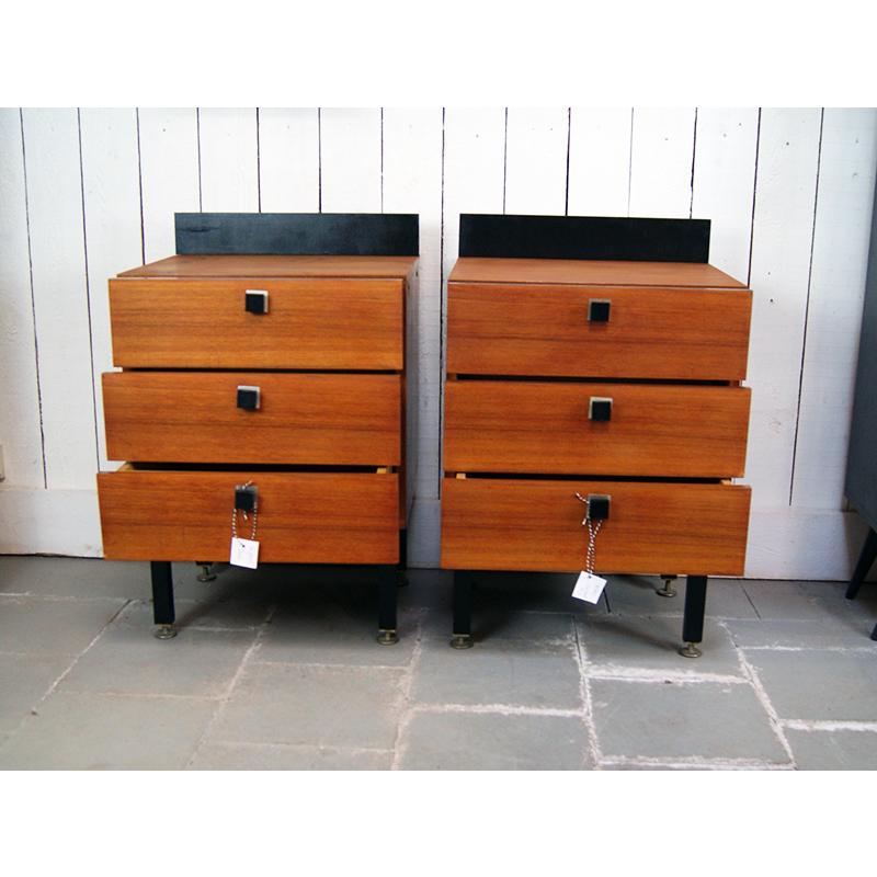 paire de chevets 157 atelier belvedere. Black Bedroom Furniture Sets. Home Design Ideas